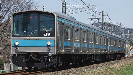 205系1000番台,奈良線で営業運転を開始