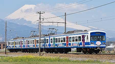 伊豆箱根鉄道「ラブライブ!サンシャイン!!第1弾ラッピング電車」運行終了