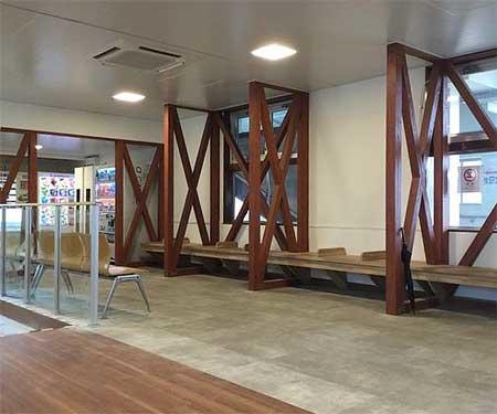 奥羽本線土崎駅の駅舎リニューアルが3月26日に完成