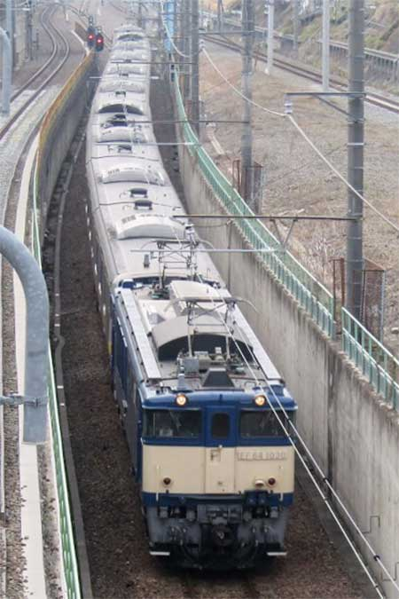 E231系B31編成が青森へ