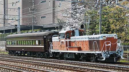 マイテ49 2が京都鉄道博物館へ