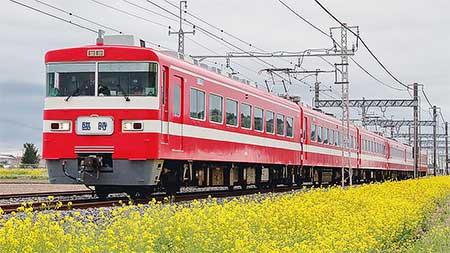 東武1800系による団体臨時列車運転