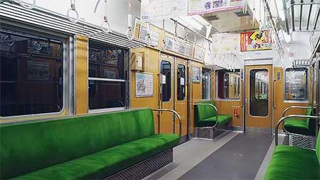 神戸電鉄1150系1154編成がリニューアルされる