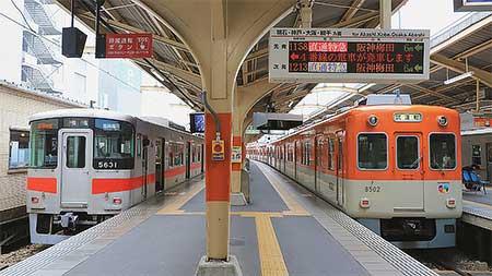 阪神8000系8502編成が山陽姫路へ