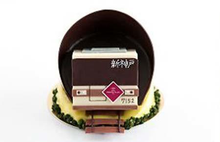 ANAクラウンプラザホテル神戸×北神急行「電車ケーキ」のイメージ