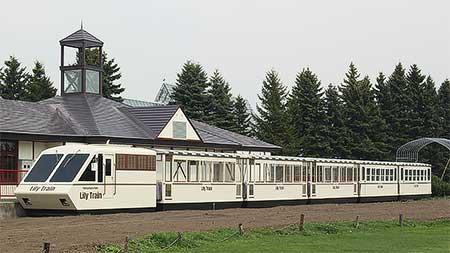 百合が原公園「リリートレイン」の車体塗装が変更される
