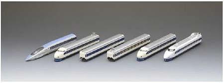 トレインボックスから,Nゲージ鉄道模型『京都鉄道博物館展示車両シリーズ「0系/100系/500系新幹線」』発売