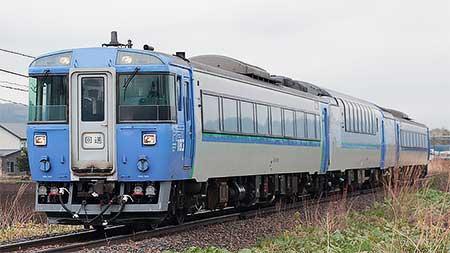 石北本線でキハ183系の試運転