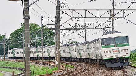185系による修学旅行臨の運転が始まる|鉄道ニュース|2018年5月8日 ...