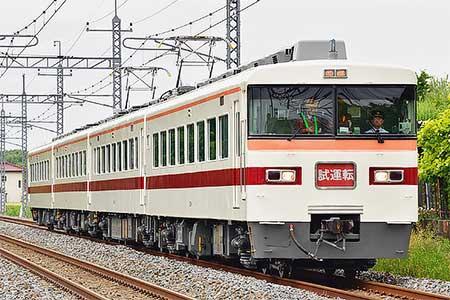 東武鉄道350系351編成が出場試運転
