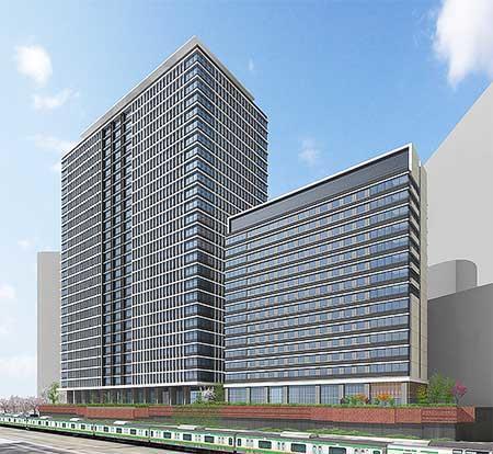 JR東日本,川崎駅西口開発計画の本体工事に着手