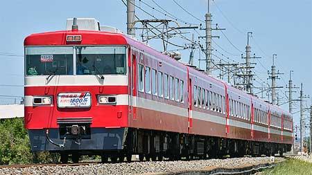 東武鉄道1800系が引退