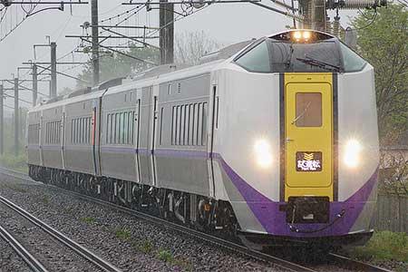 キハ261系1000番台が函館—札幌間で試運転