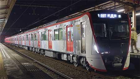 東京都交通局5500形が京急線内で試運転