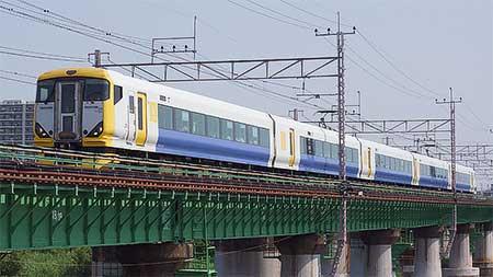 E257系による『Y159記念列車の旅』運転