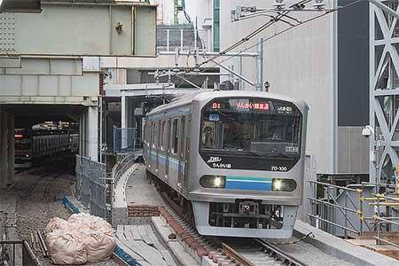 山手貨物線渋谷駅の上り線路が移設される