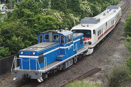 京葉臨海鉄道にキヤE193系「East i-D」が入線