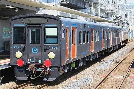 JR九州YC1系が甲種輸送される