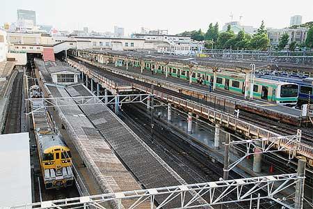 キヤE195系,上野に初入線