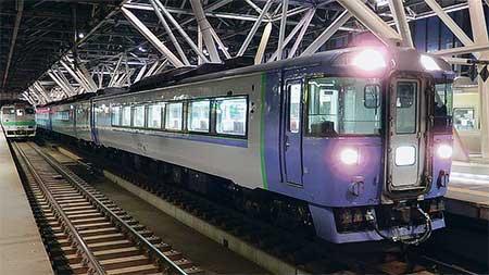 """特急""""サロベツ""""をキハ183系が代走"""