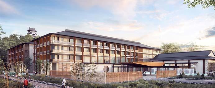 名鉄,「ホテルインディゴ 犬山 有楽苑」を2021年度下期に開業