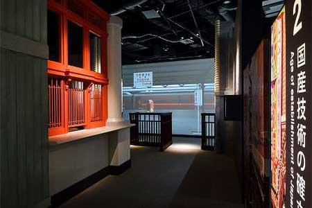 歴史ステーションに設置される東京駅窓口・改札(大正時代)