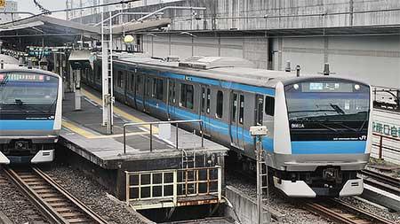 京浜東北線で線路切替え工事による運転変更