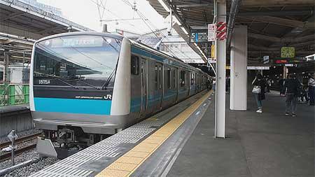 品川駅で京浜東北線南行のホームが5番線に