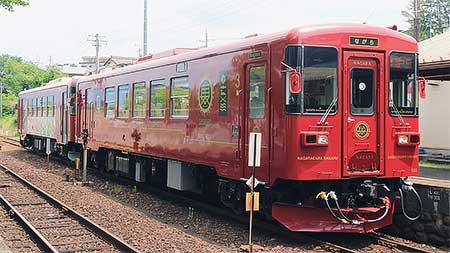 長良川鉄道で『さわやかウォーキング』にともなう臨時列車運転