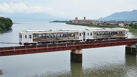 キハ125形400番台「海幸山幸」鹿児島から宮崎へ返却される