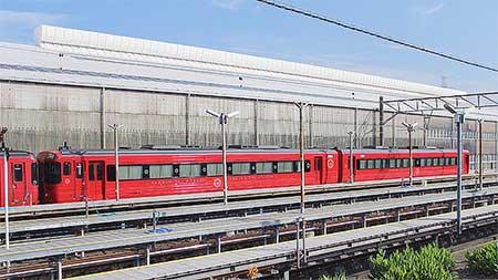 キハ185-5とキハ186-3の塗装が変更される