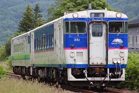 石勝線夕張支線で臨時列車運転