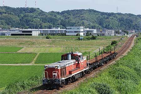 高山本線でレール輸送列車運転