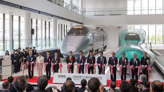 鉄道博物館で『「新館開業」・「本館改修」記念式典』開催