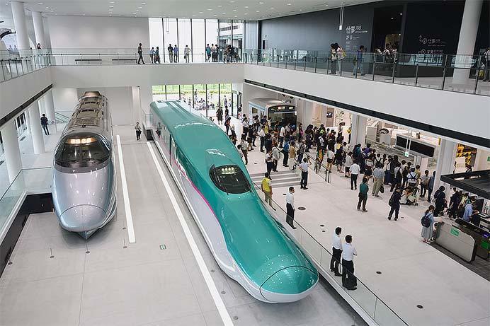 鉄道博物館の新館がオープン