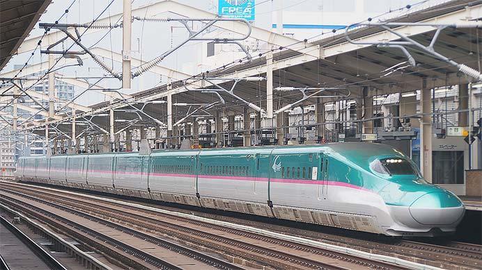 『北海道すずかぜ号』,E5系で運転