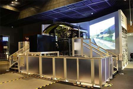 鉄道博物館,D51シミュレータ「上級コース」の区間を変更