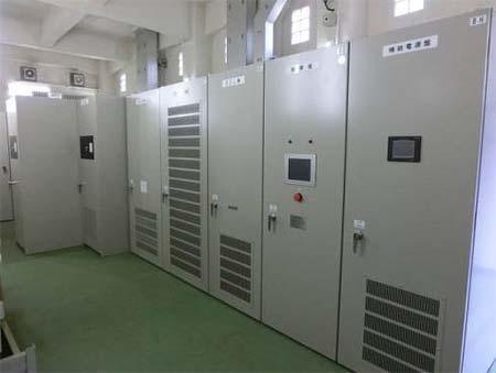回生電力貯蔵装置(上原変電所)