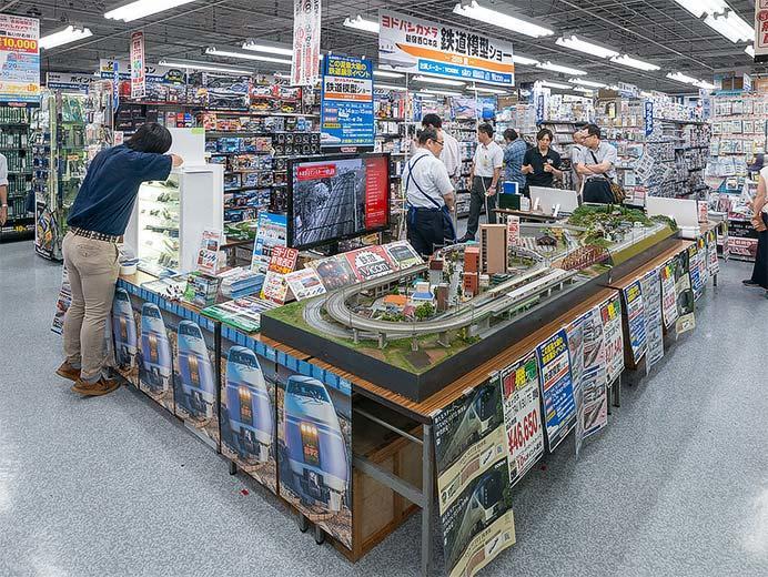 ヨドバシカメラ新宿西口本店で『鉄道模型ショー』開催