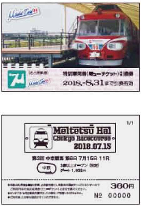 名鉄「ミューチケットカード49」発売