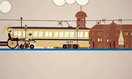 横浜市交通局,「ブルーライン快速運転PRアニメーション」を公開