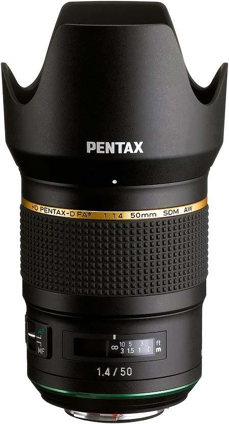 リコー「HD PENTAX-D FA★50mmF1.4 SDM AW」を発売