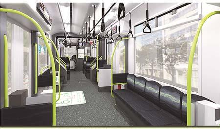 広島電鉄,2019年3月末から新形車両5200形「Green Mover APEX」を導入