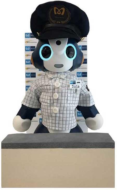 東京メトロ×NTTコミュニケーションズ,AIとコミュニケーションロボットによる実証実験を開始