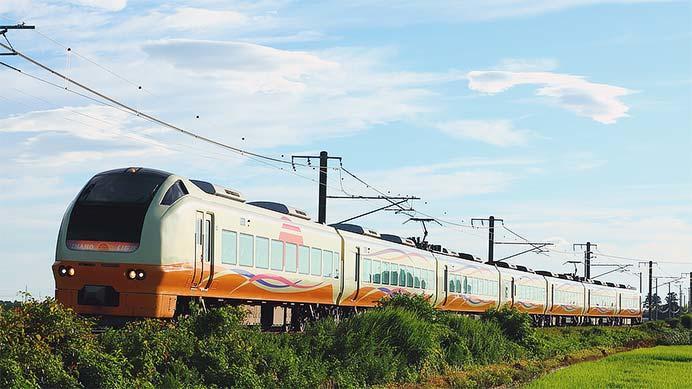 『新発田えきまえミステリー列車』運転