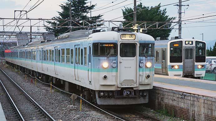 115系L99編成が長野へ