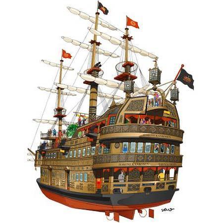 箱根観光船 新形海賊船のイメージ