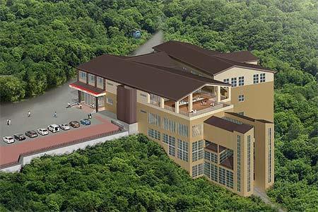 早雲山 新駅舎のイメージ