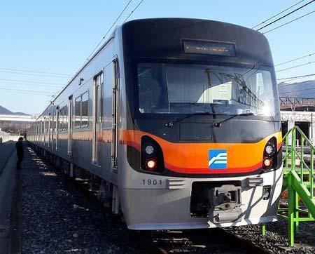 釜山地下鉄1号線新形車両