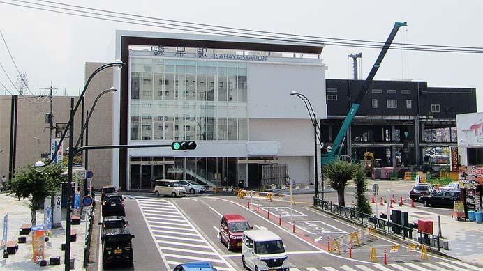 諫早駅の新駅舎が開業